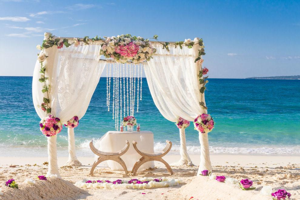 mariage laïc plage